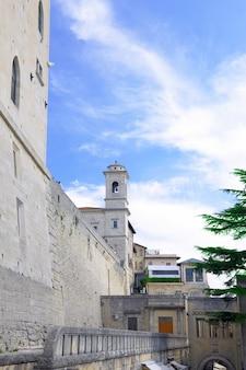 República de san marino, torre de san marino. europa