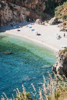 Reserva natural do zingaro, cala tonnarella dell'uzzo, sicília