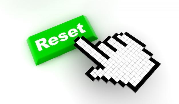 Reset do cursor