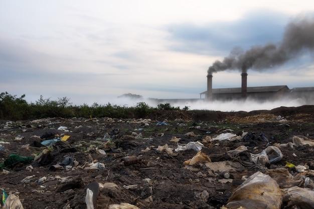 Resíduos industriais.