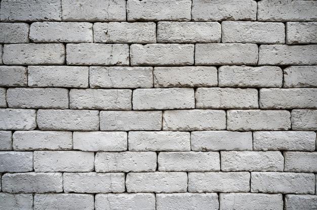 Resistiu a parede de tijolos cinza