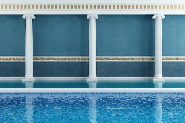 Resort de luxo azul