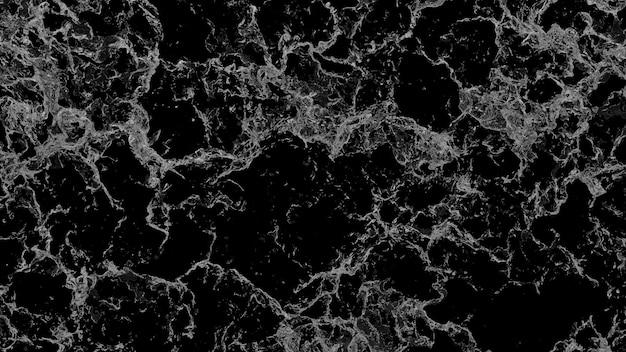 Respingo de água para arejar em fundo preto. ilustração 3d render