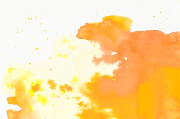Respingo de escova molhada pintado abstrato