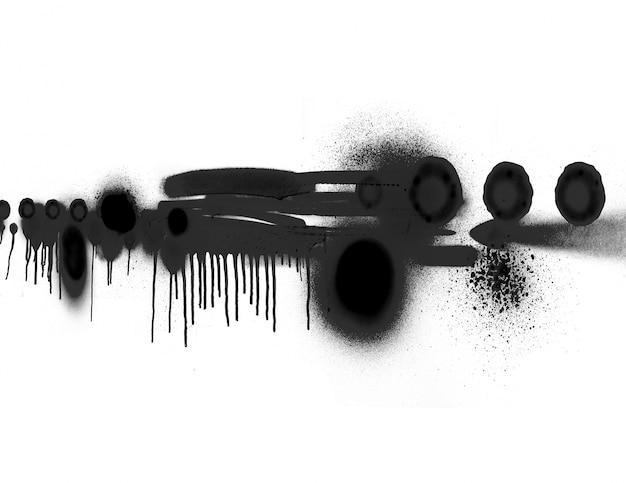 Respingo símbolo abstratos textura de desenho