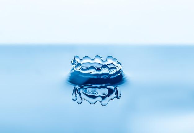 Respingos de gotas de água