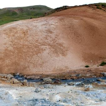Respiradouros para piscinas geotérmicas geológicas