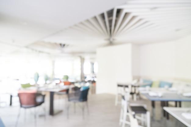 Restaurante borrão