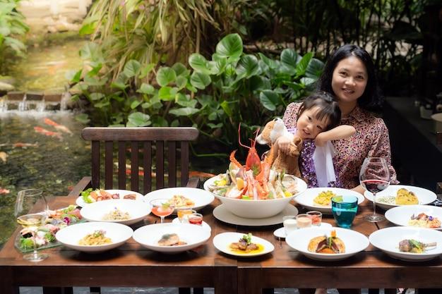 Restaurante buffet premium à la carte
