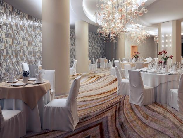 Restaurante do hotel empry