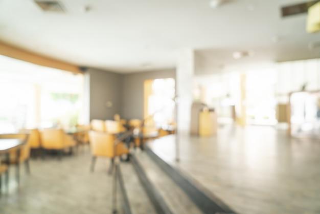 Resumo blur café restaurante