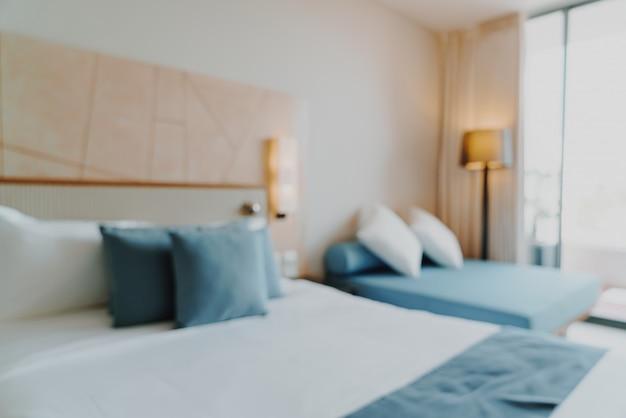 Resumo blur interior do quarto