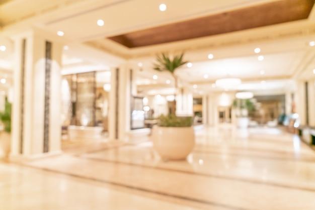 Resumo blur lobby do hotel de luxo