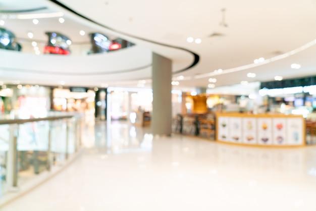Resumo blur shopping center ou loja de departamentos interior para plano de fundo
