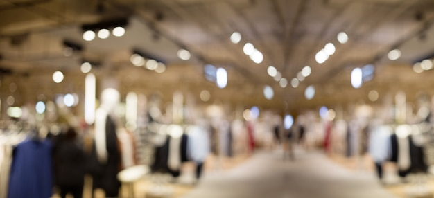 Resumo blur shopping para cliente