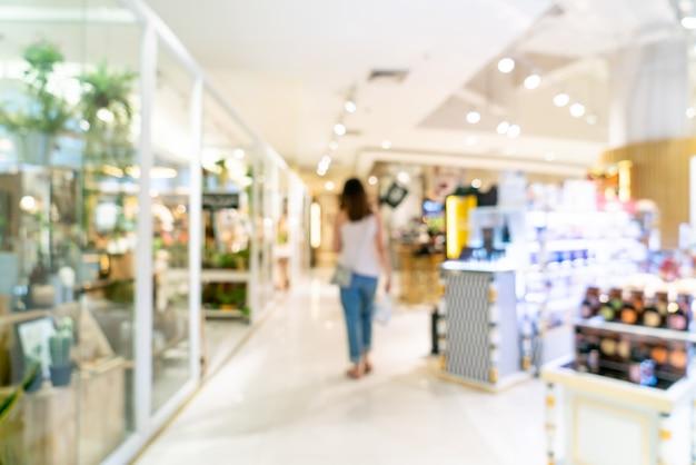 Resumo blur shopping