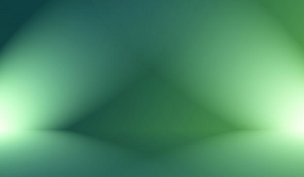 Resumo blur vazio gradiente verde studio bem usar como plano de fundo, modelo de site, moldura, relatório de negócios