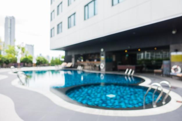 Resumo borrão e defocused pool