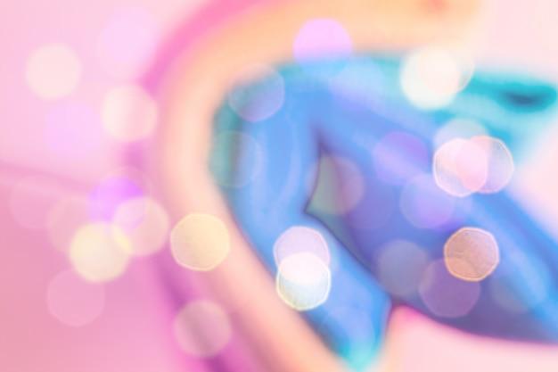 Resumo colorido turva. unicórnio
