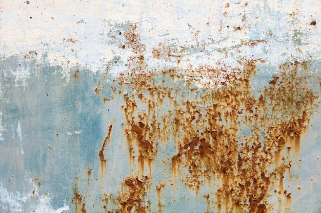 Resumo corroído fundo colorido de metal enferrujado