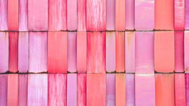 Resumo da parede de padrão arquitetônico metal colorido moderno