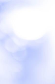 Resumo de bokeh azul. conceito de natureza.