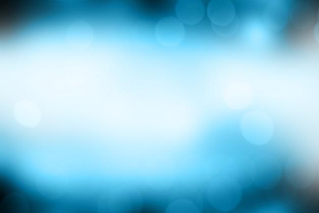 Resumo de bokeh gradiente azul turva luz