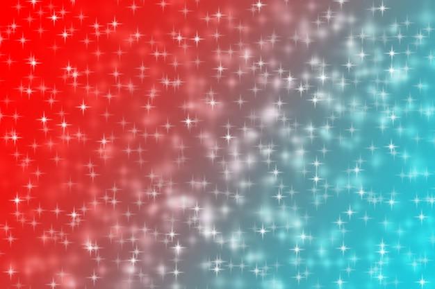 Resumo de brilho brilhante gradiente azul vermelho de fundo