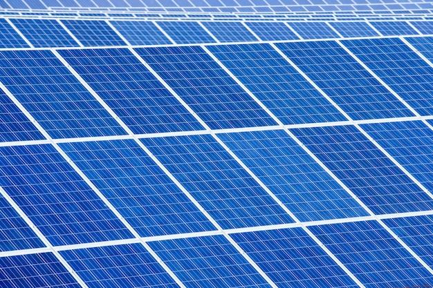 Resumo de detalhes do painel solar - fonte de energia renovável