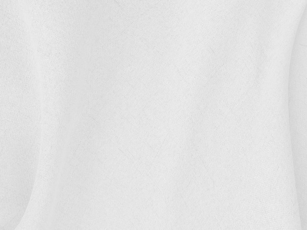 Resumo de fundo de roupas brancas com ondas suaves.
