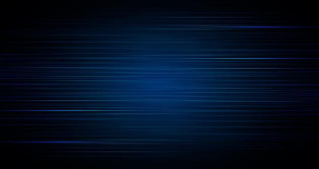 Resumo de luz azul escuro