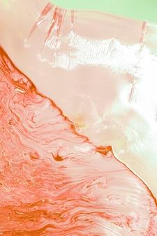 Resumo de óleo de ondas de água salmão