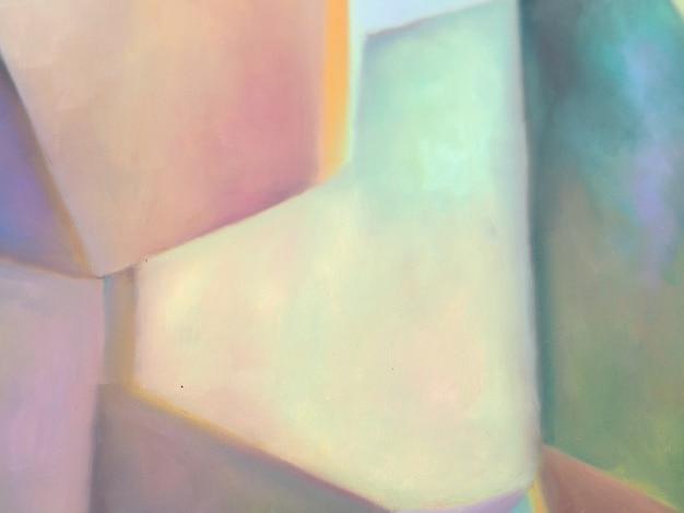Resumo de pintura a óleo colorido.