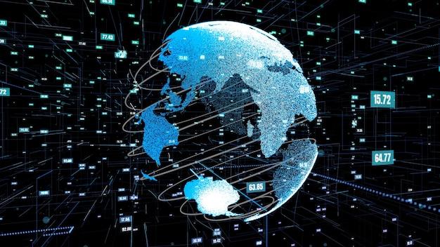 Resumo de tecnologia de ciência de dados global e programação de computador