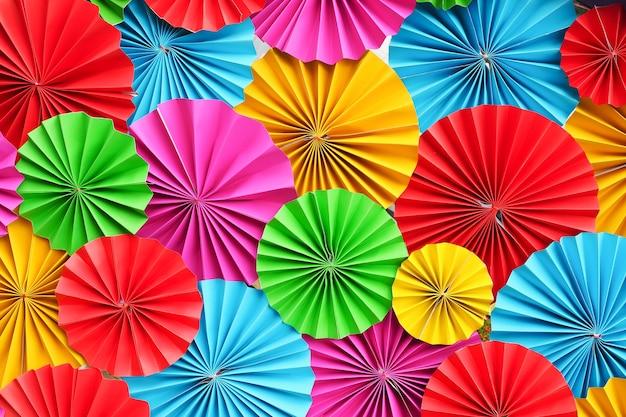 Resumo de tiras de filigrana de papel colorido bonito dobrado para o fundo