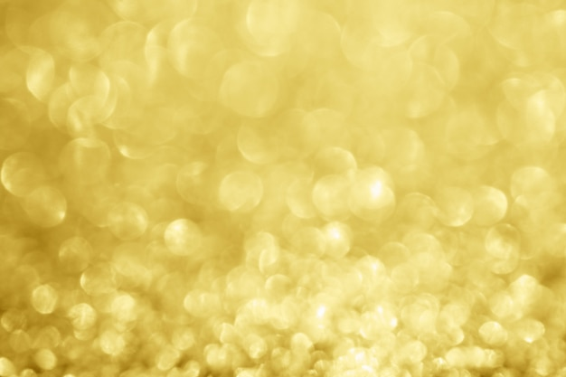 Resumo desfocar brilho dourado brilho desfocado bokeh de fundo claro