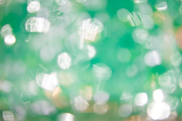 Resumo fundo circular bokeh verde