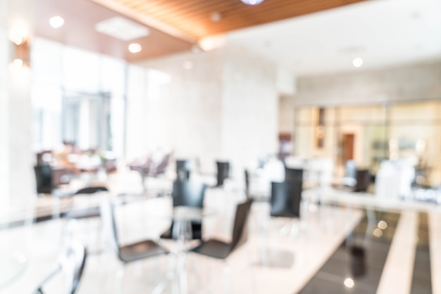 Resumo lindo luxo blur interior do hotel