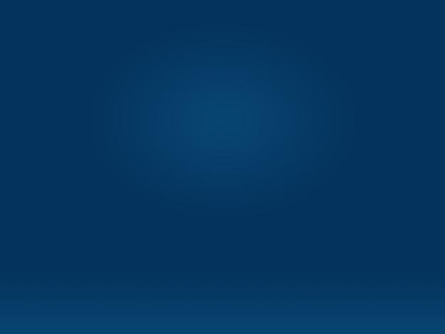 Resumo liso azul escuro com vinheta preta studio bem usar como plano de fundo, relatório de negócios, digital, modelo de site, pano de fundo.