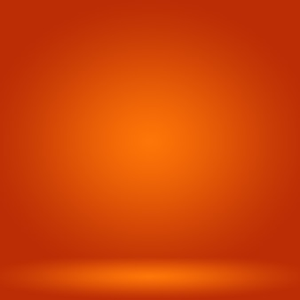 Resumo liso fundo laranja layout designstudioroom modelo de web relatório comercial com liso c ...