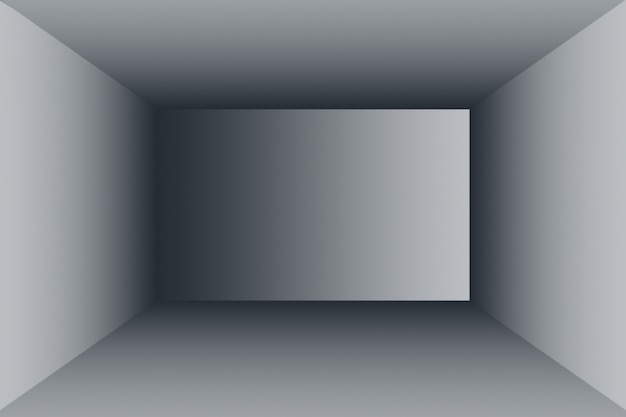 Resumo luxo blur gradiente cinza e preto escuro, usado como parede de estúdio de fundo para exibir seus produtos.