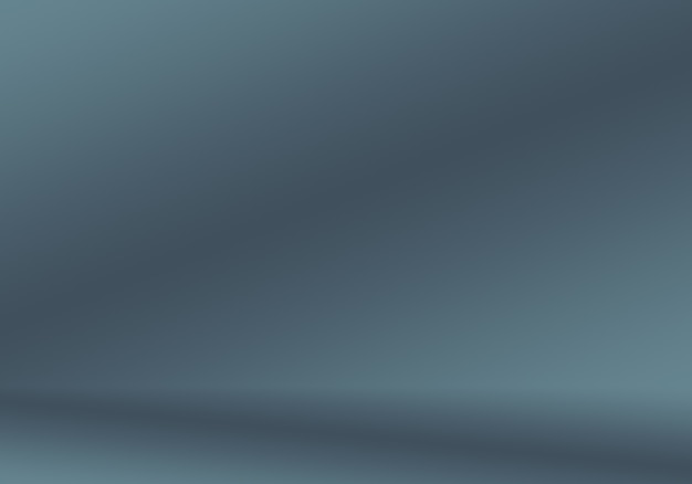 Resumo luxo desfocar gradiente cinza escuro e preto usado como parede de estúdio de fundo para exibir seu pr ...