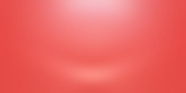 Resumo luxo macio fundo vermelho projeto de layout dos namorados de natal, estúdio, sala, modelo da web, relatório de negócios com cor gradiente de círculo suave.