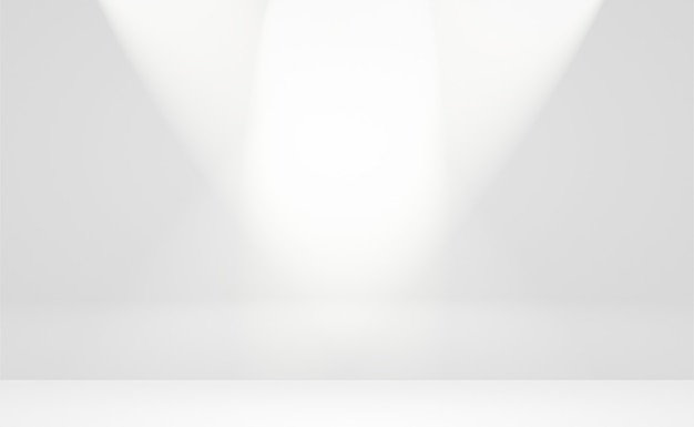 Resumo luxo plano borrão gradiente cinza e preto usado como parede de estúdio de fundo para exibir seu p ...