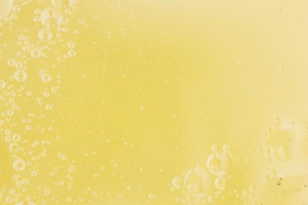 Resumo padrão dourado em óleo
