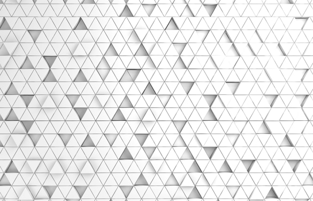 Resumo triangular branco
