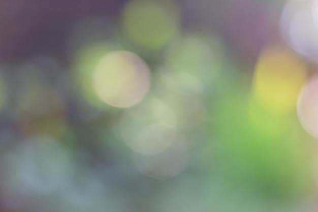 Resumo turva luz verde bokeh de fundo