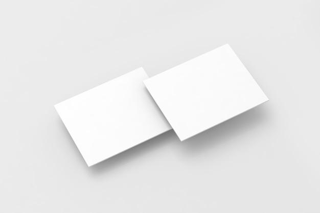 Retângulos brancos em branco