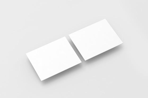 Retângulos em branco branco computador maquete de design de site