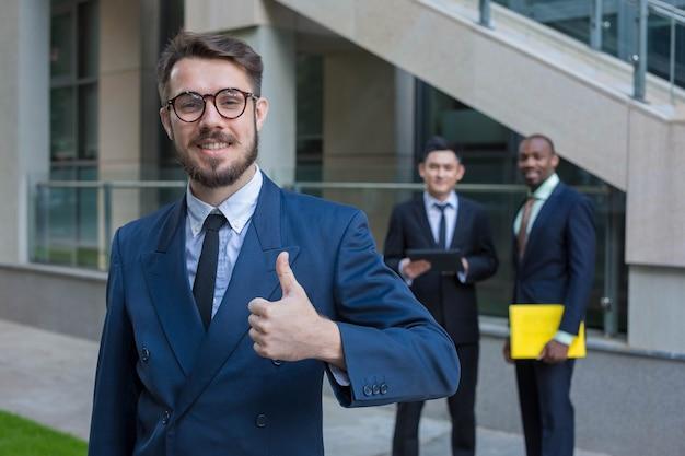 Retrato da equipe de negócios